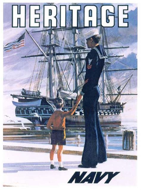 awesome vintage navy recruiting posters