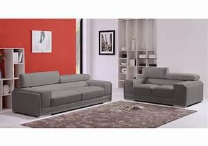 Soldes canape meublezcom london ensemble canapes 2 et 3 for Ensemble canape 3 et 2 places pas cher