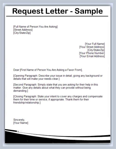 request letter format  visa extension cover letter