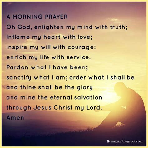 morning prayer  god enlighten  mind  truth