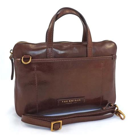 the bridge small grab handle shoulder bag style