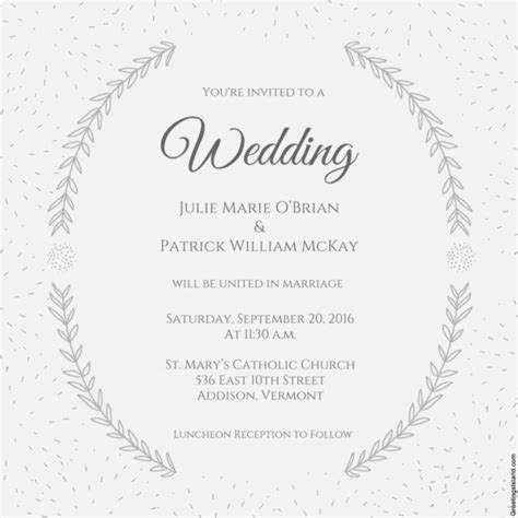wedding invite template download wedding invitation template 71 free printable word pdf