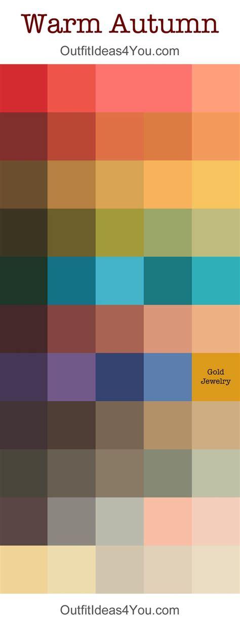 17 Best Images About Color Analysis Warmtrue Autumn (pure