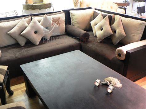 couvre canapé marocain salon marocain rosale2