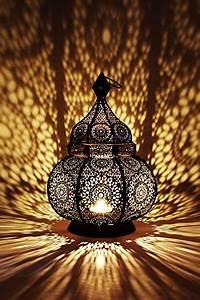 Laterne Kerze Draußen : orientalische laterne aus metall ziva schwarz 30cm ~ Watch28wear.com Haus und Dekorationen