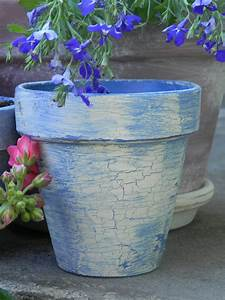 Creating, Vintage, French, Flower, Pots