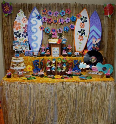 lilo stitch luau birthday party ideas moanas birthday
