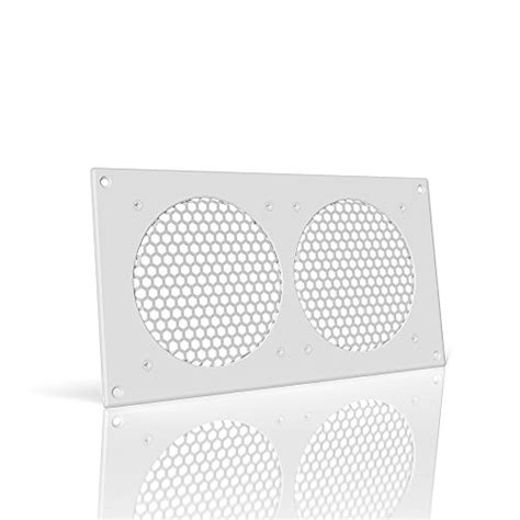 ac infinity white ventilation grill 12 quot for pc computer av electronic cabinets