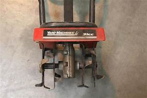 Mtd Yard Machines 31cc Gas Tiller  Cultivator