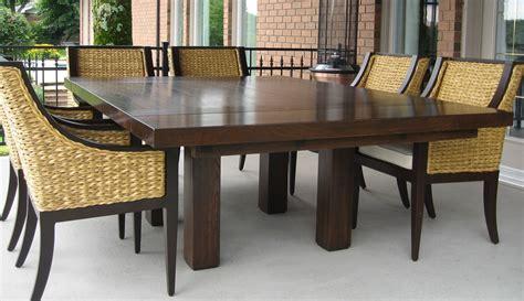 table de cuisine carree tables en bois massif signature stéphane dion
