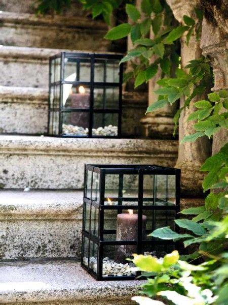 kerzen für den garten gartendeko f 252 r sch 246 ne sommerstunden in 2019 balkon