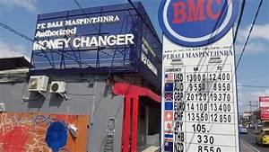 Tout Sur La Monnaie Bali Et Bureau De Change Lebaliblog