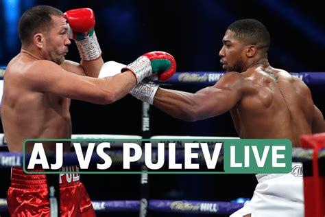 Anthony Joshua vs Pulev LIVE RESULTS: AJ wins after brutal ...