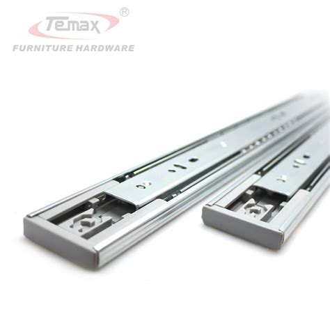 Undermount Sliding Drawer Hardware by 16 Quot Push To Open Drawer Slide With 3 Section Device
