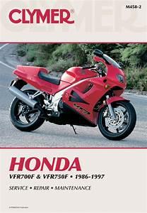 Honda Vfr700f  U0026 Vfr750f Interceptor Motorcycle  1986