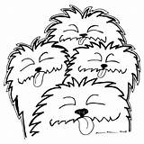 Drawing Dog Dogs Bark Drawings Nose Karl Addison Clipartbest Getdrawings Greeting Card sketch template