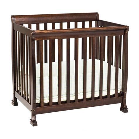 mini baby cribs davinci kalani mini crib in espresso m5598q ebay