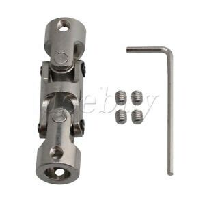 silver  mm  section universal joint coupler  hex wrench mm length  ebay