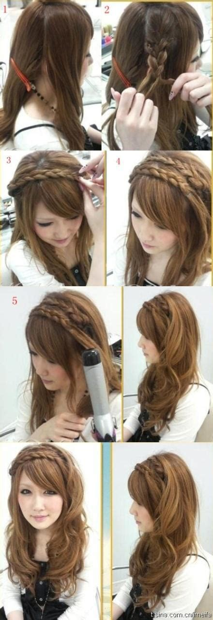 Hairstyles Step By Step For by 20 Beautiful Hairstyles For Hair Step By Step
