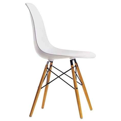 chaise dsw blanche chaise dsw eames vitra blanche idees fr