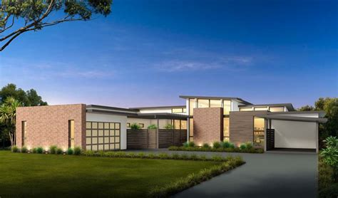 Mid-century Modern House Plan With Courtyard