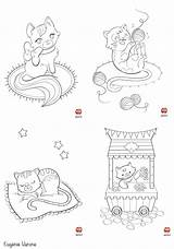 Coloring sketch template