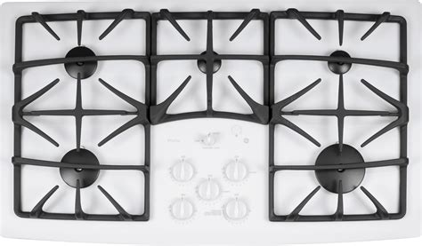 jgptekww ge profile series  built  gas cooktop white
