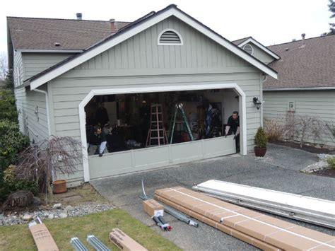 garage door installation service residential garage door installation in sammamish wa by