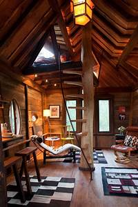 Whimsical treetop sanctuary on Crystal River