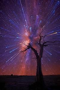 Amazing Startrails Bursting in the Night Sky | Star trails ...