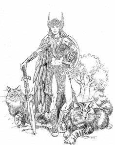 Tatouage Valkyrie Nordique : valkyrie warrior guerri re dessin pinterest tatouage guerri res et tatouage viking ~ Melissatoandfro.com Idées de Décoration