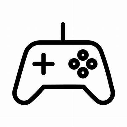 Icon Joystick Controller Console Icons Vector Transparent
