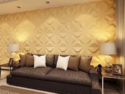 Wall Bedroom 3d Panels Living Dining 3m