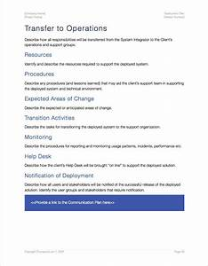 software deployment document template - deployment plan apple iwork pages numbers