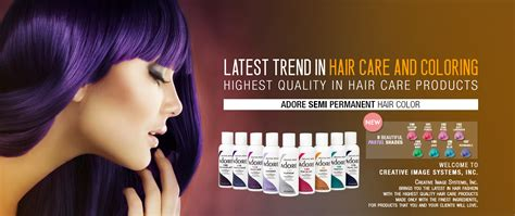 Adore Creative Image Shining Semi Permanent Hair Color Dye