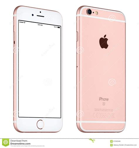 iphone 6s stock gold apple iphone 6s mockup slightly rotated front