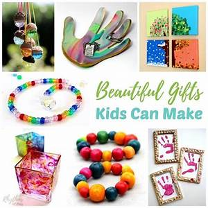 Homemade Gifts Kids Can Make for Family, Friends and