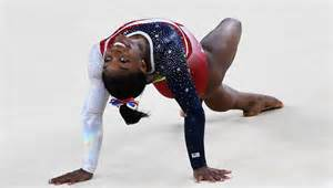 stunning floor routine gives biles the gold medal