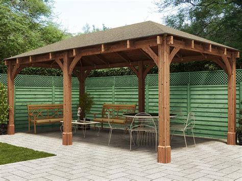outdoor wooden gazebo wooden gazebo outdoor dining seating area hot tubs garden shelter heavy duty uk ebay