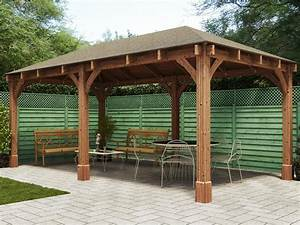 Dunster House Export Website | Atlas Open Gazebo W6.0m x ...