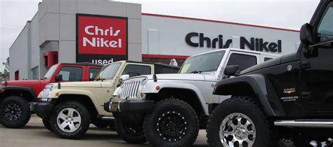 jeep store  tulsa  chris nikel chrysler jeep