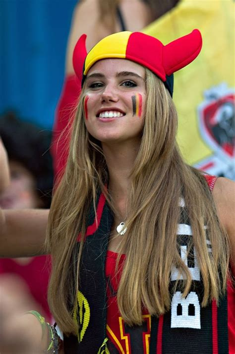 Teenage Belgium fan who won modelling contract after World ...