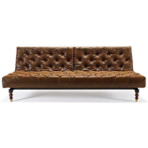 chesterfield sofa dark brown oldschool chesterfield sofa bed black brown leather