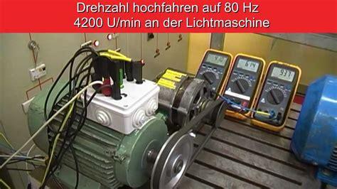 Auto Generator 220v Statt 12v!