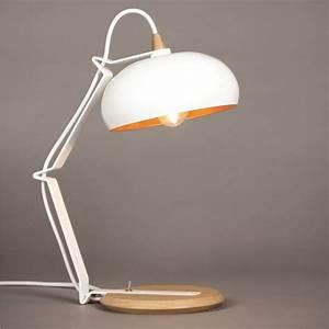Lampe Bois Design : lampe design bois m tal made in france rhoda lampari amobois ~ Teatrodelosmanantiales.com Idées de Décoration