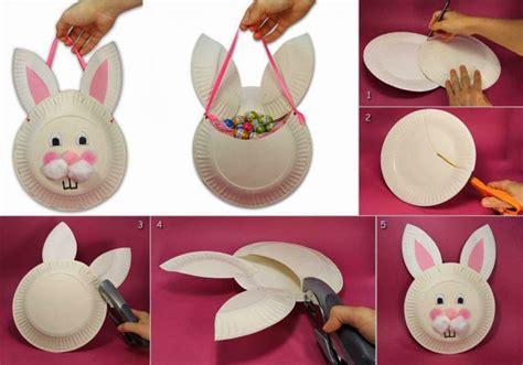 Osterkörbchen Basteln Mit Kindern Zu Ostern