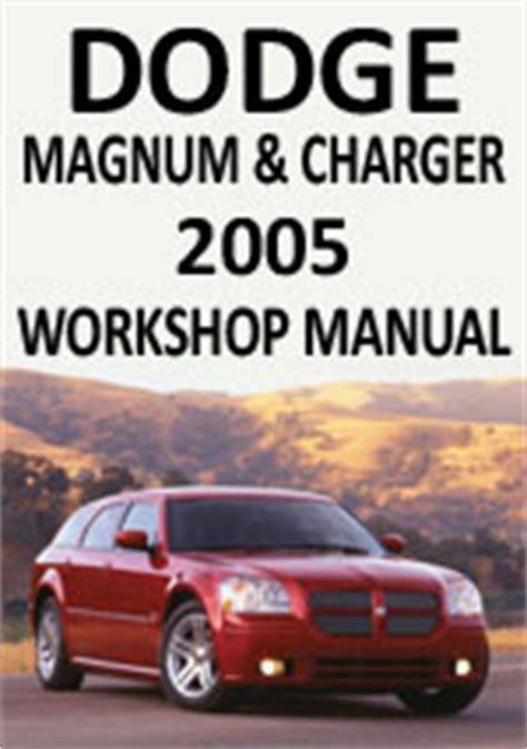 book repair manual 1998 plymouth neon navigation system dodge magnum charger 2005 workshop repair manual