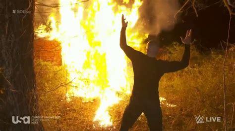 randy orton burns   wyatt compound  climatic