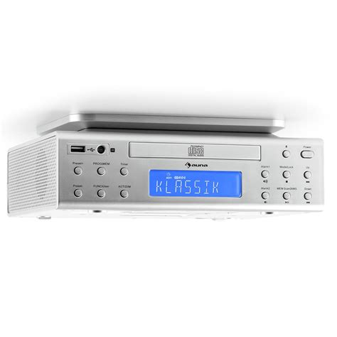 kitchen radios cabinet cabinet auna kitchen radio cd player stereo speaker 5545