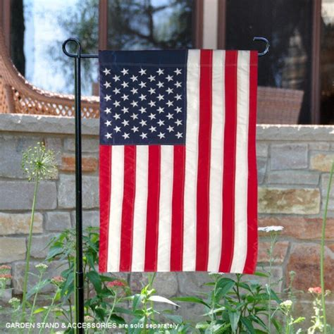 american garden flag american flags and pennants us embroidered garden flag